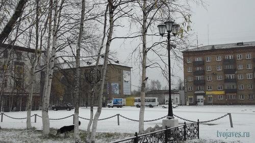 Фото города Инта №5995  Кирова 38, 29 и 31 01.10.2013_12:16