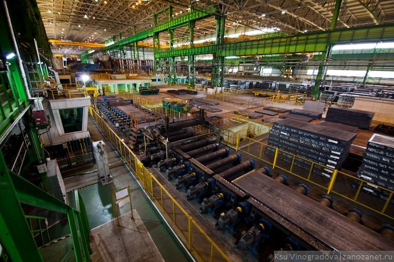 МКС-500. Объединенная металлургическая компания. Выкса.