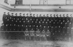 Группа личного состава одного из дивизионов бригады.