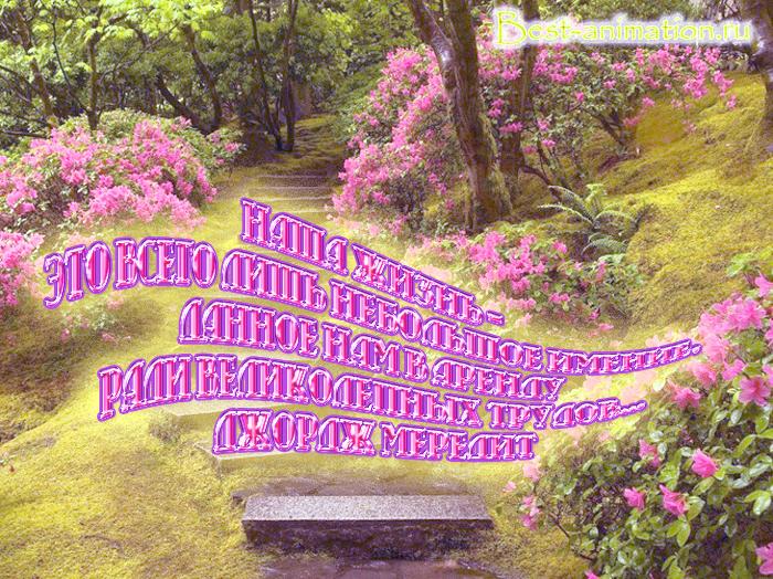 Цитаты великих людей - Что такое жизнь - Наша жизнь – это всего лишь небольшое имение...