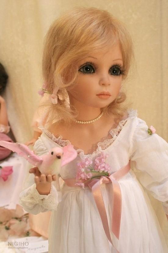 Фарфоровые куклы Сью Линг Ванг: ochendaje