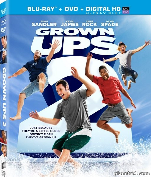 Одноклассники 2 / Grown Ups 2 (2013/BDRip/HDRip)