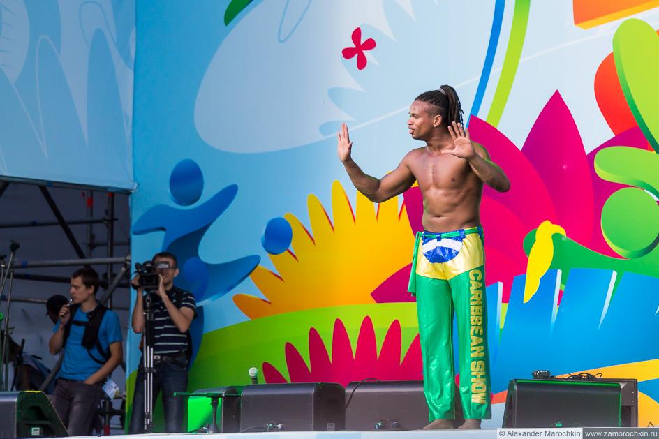 Бразилия на фестивале FIFA Fan Fest в Саранске