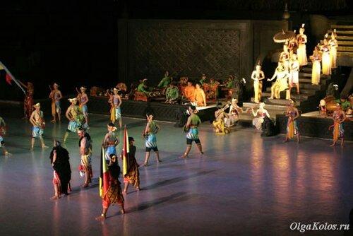 Балет Рамаяна в Прамбанане
