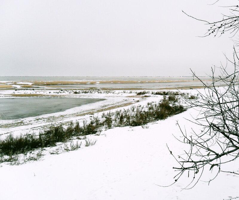 Поход, январь 2012, Ясенская коса