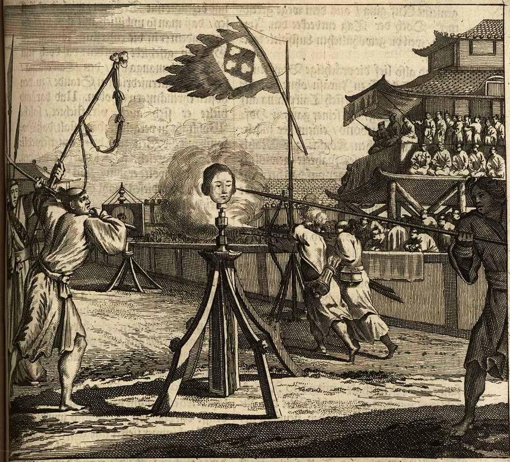 Япония глазами европейцев на гравюрах - 1670 год (3)