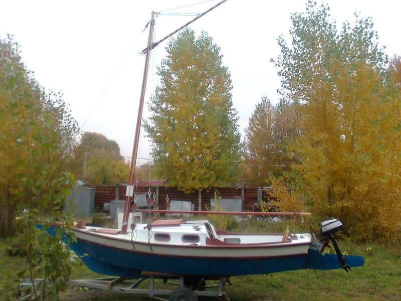 Как сделать прицеп для лодки пвх своими руками