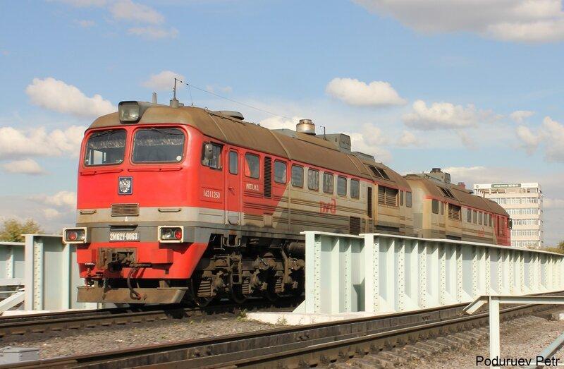 2М62у-0063 на станции Андроновка