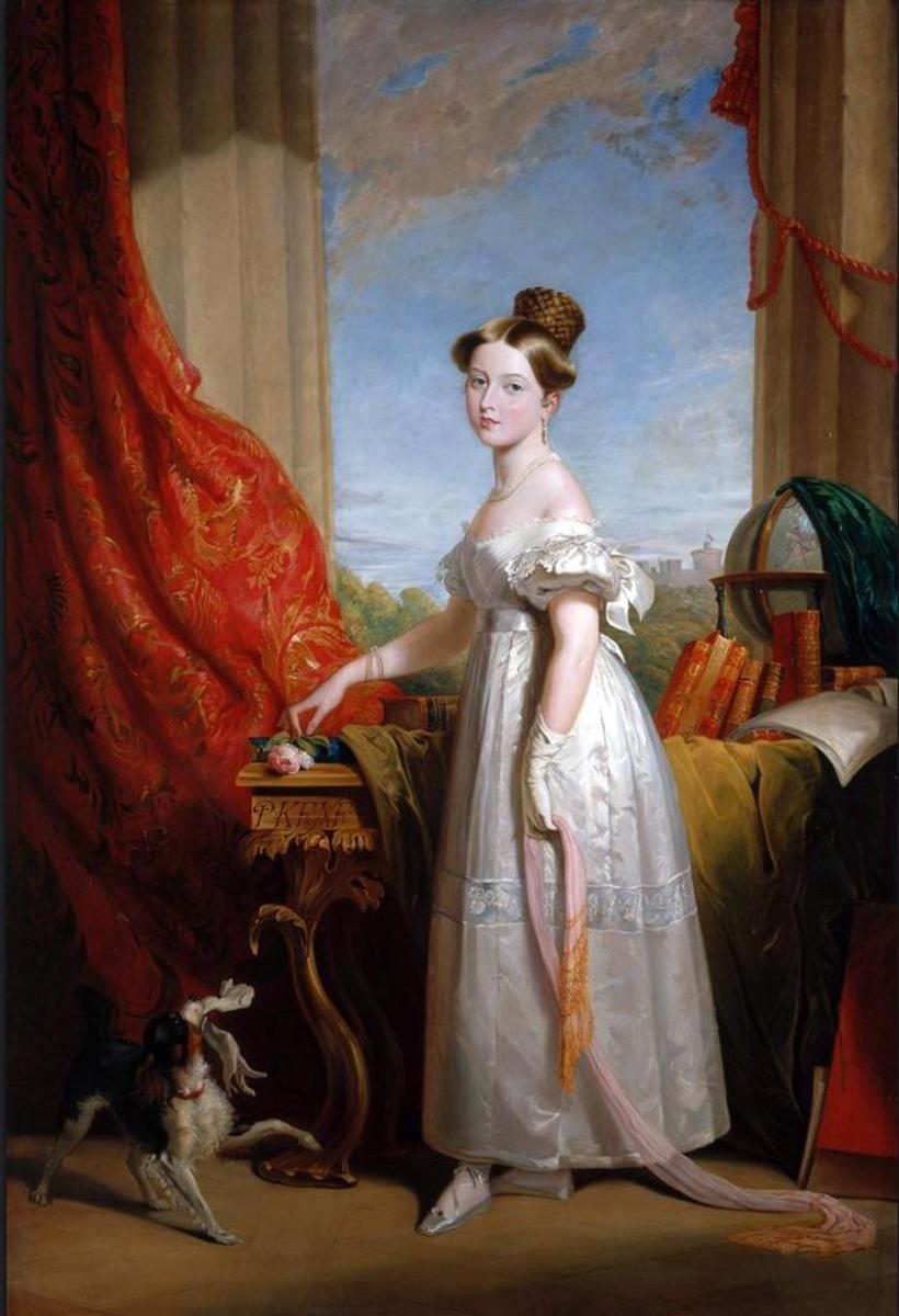 Princess Victoria, by George Hayter