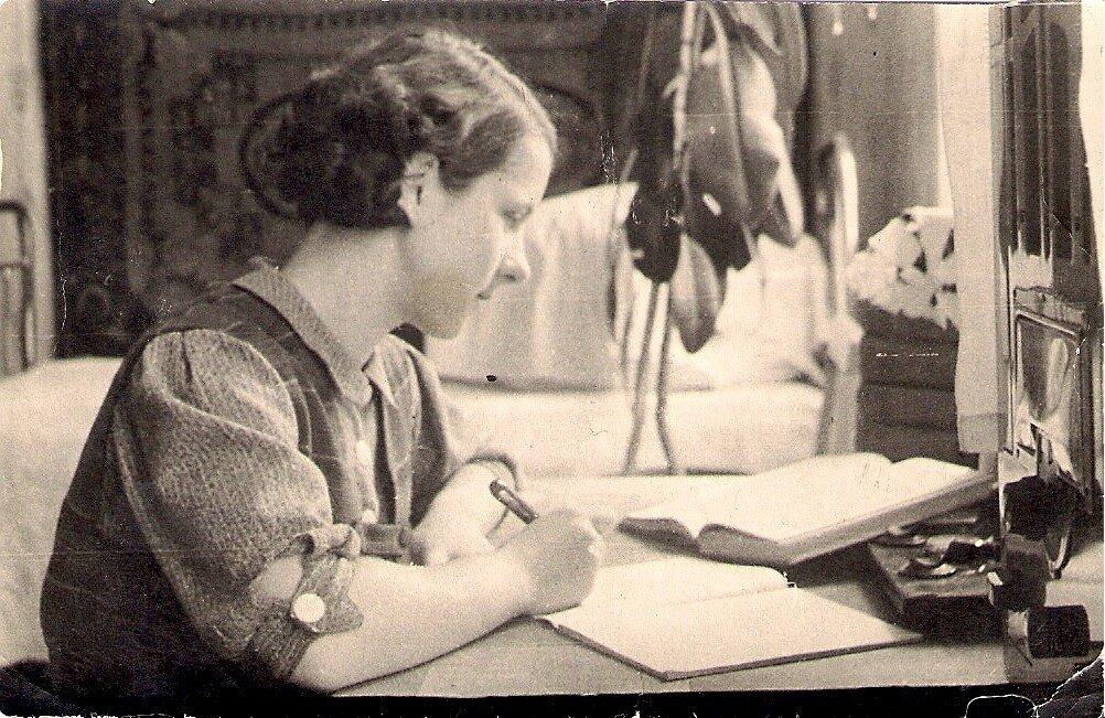Июнь 1941. Студентка. г.Минск,