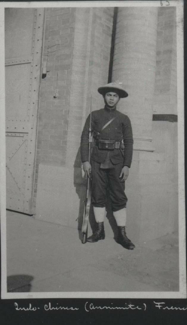 Солдат из французского Индокитая