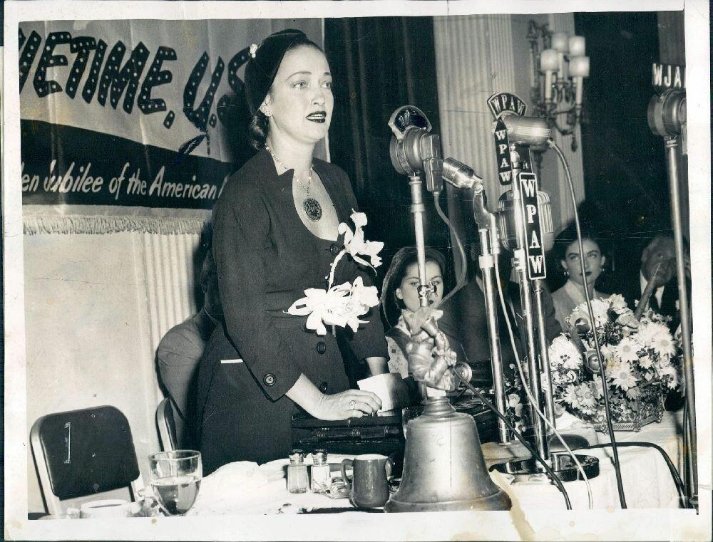 1951. Актриса Дороти Ламур
