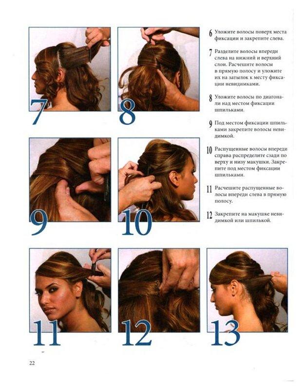 Причёски на средние волосы с каскадом пошагово