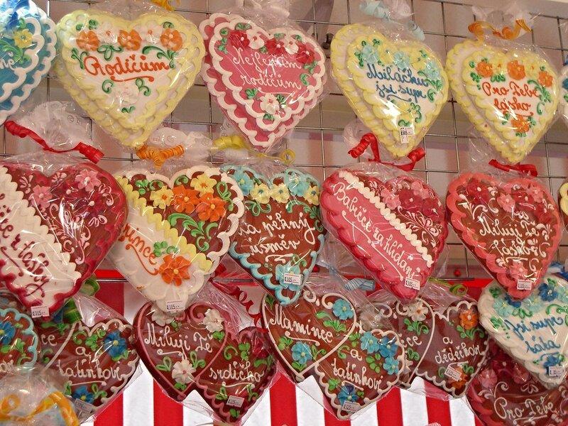 Чешские пасхальные сладости.