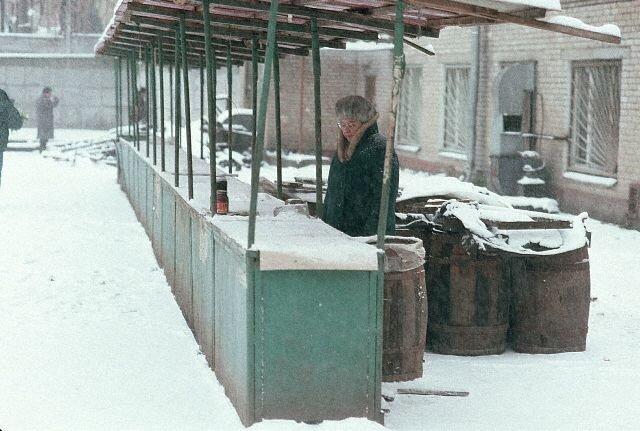 1991-Moscow, Markets/ Vendors