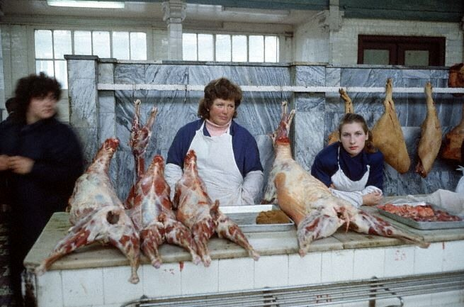 Butcher Shop in Moscow