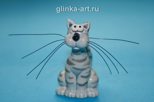 glinka-art.ru, кошки, фарфор, кошка, кот, коты