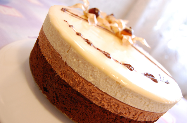 Торт мусс три шоколада рецепт