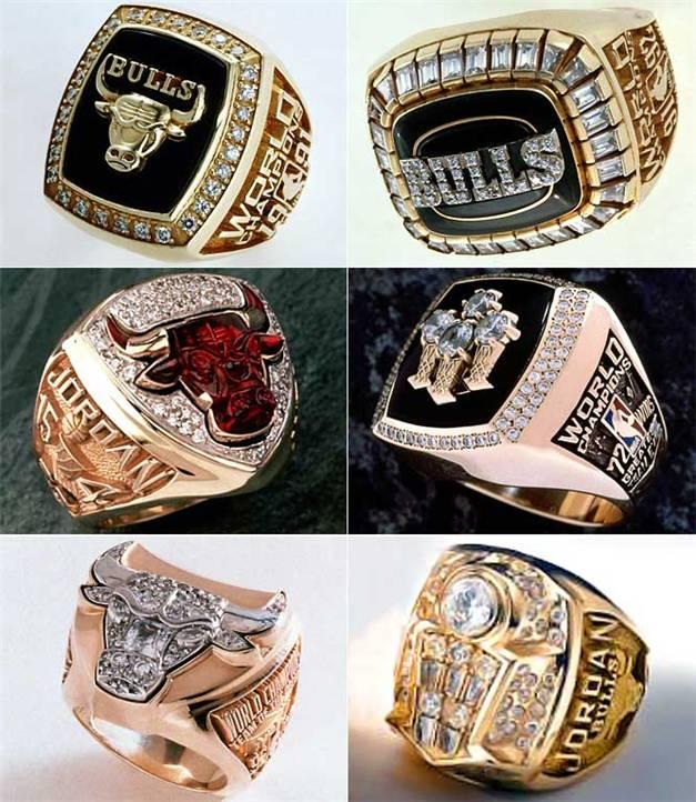 Чемпионские перстни / Champions Rings - Chicago Bulls