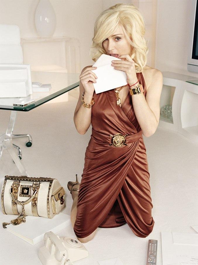модель Мадонна / Madonna, фотограф Mario Testino