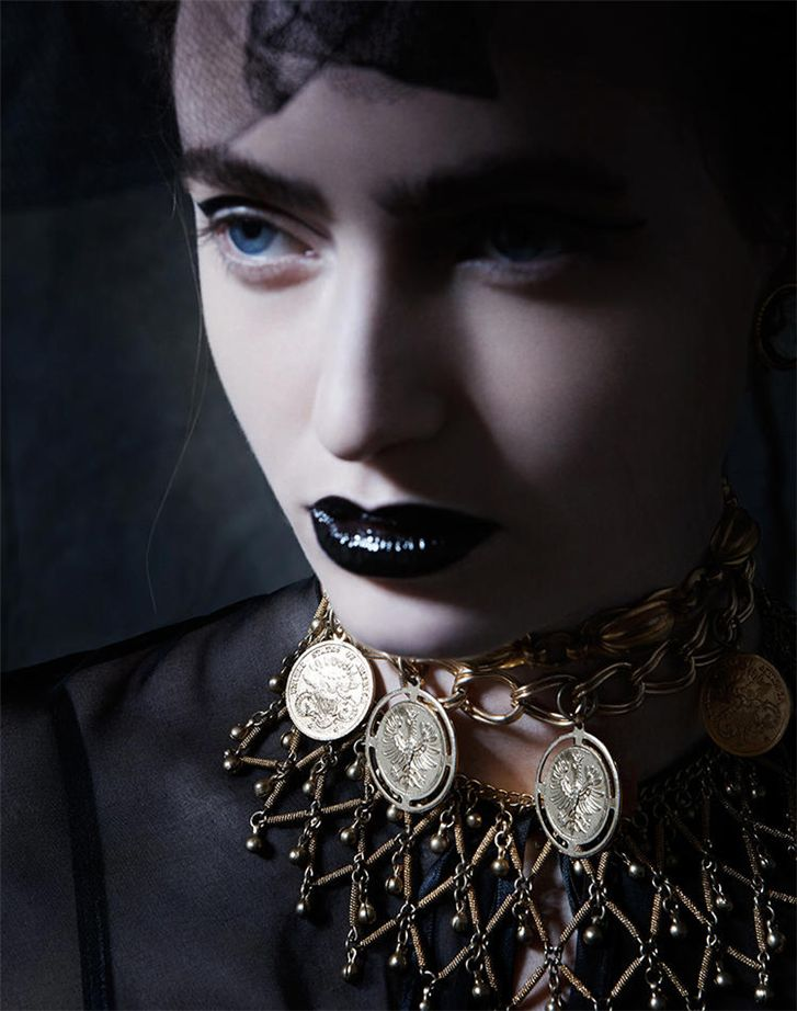 модель Элизабет Тодд / Elizabeth Todd, фотограф Mara Zampariolo