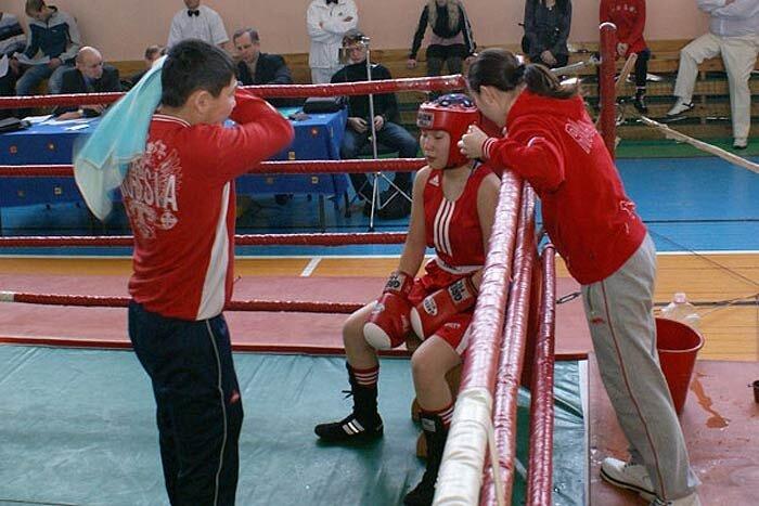 Женский бокс в Находке