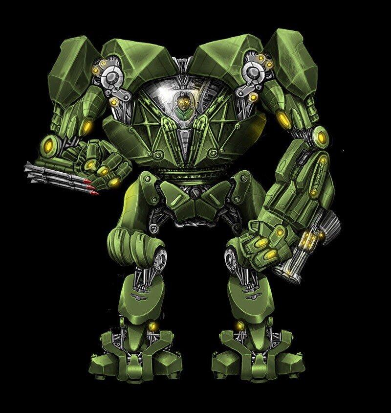 Робот Вадима из игры