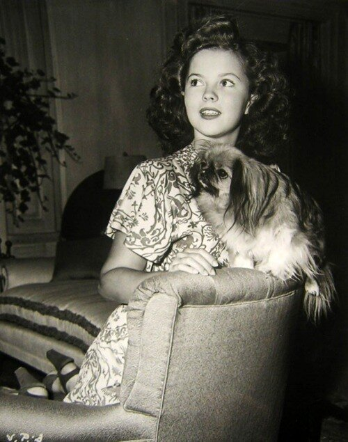 Shirley Temple, 1940s,