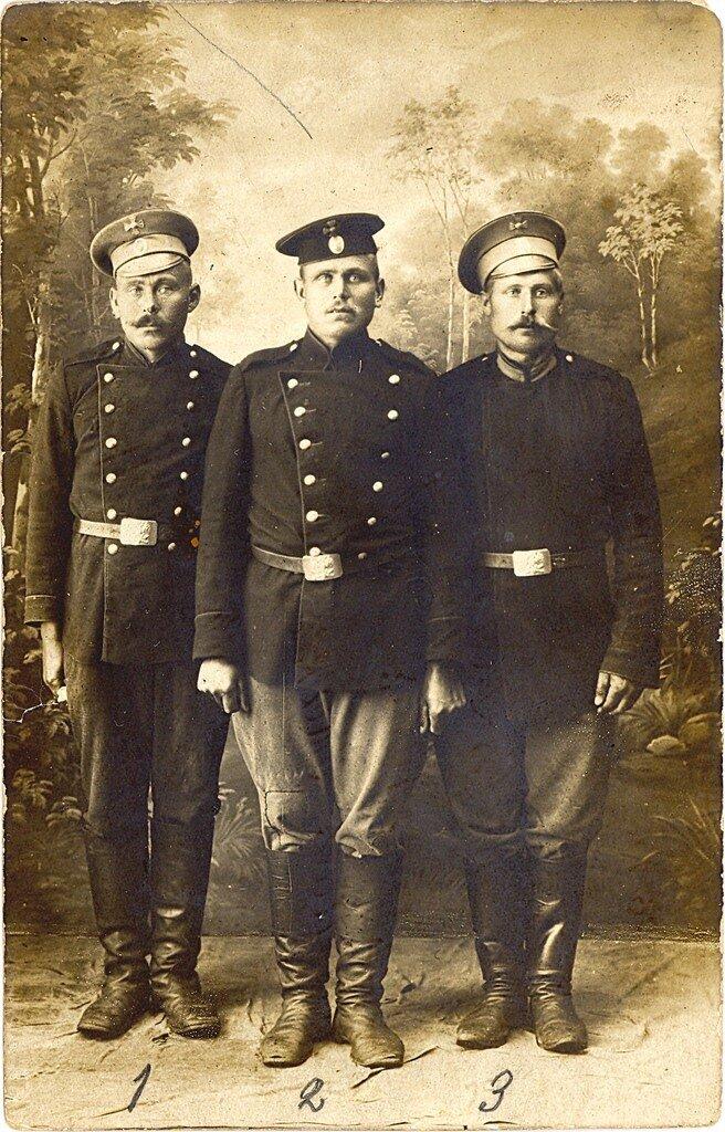 русские солдаты, 1915