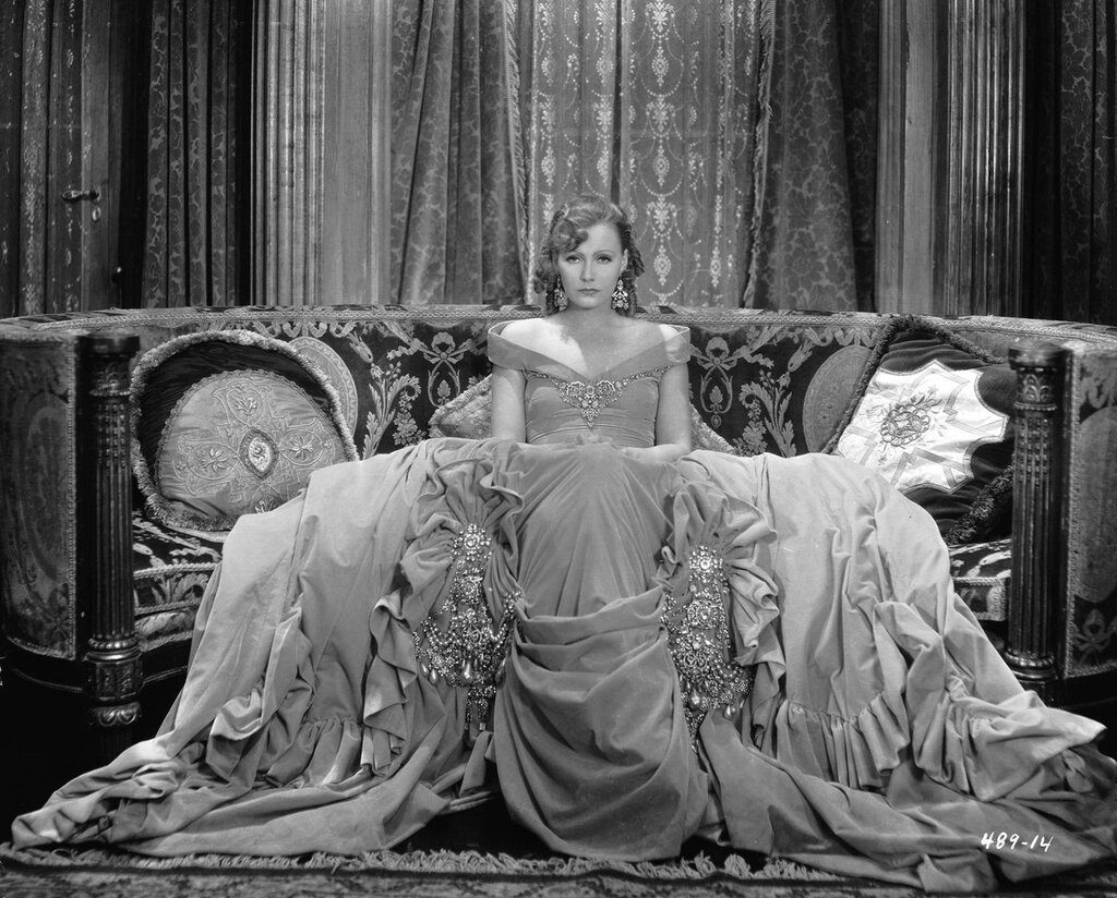 "Greta Garbo in ""Romance"" by George Hurrell 1930"