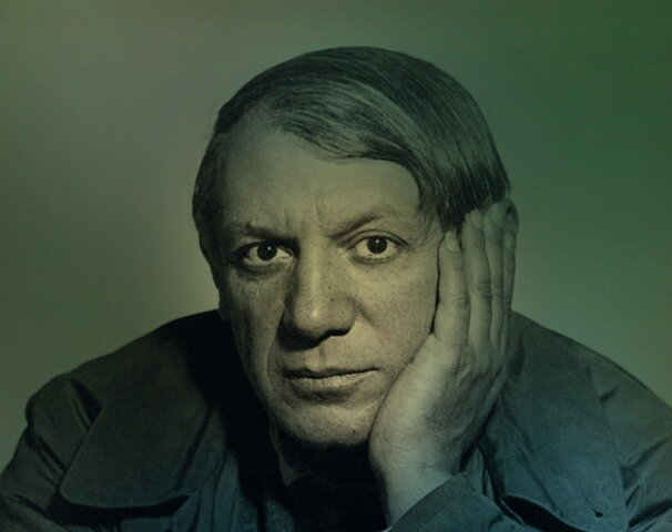 Pablo Picasso, 1933, photo Man Ray © Man Ray
