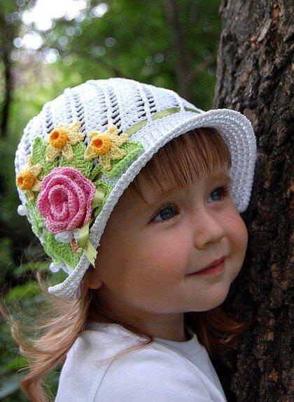 на Яндекс.Фотках.  Весна, лето, шляпки для девочек.  Фотографии в альбоме.