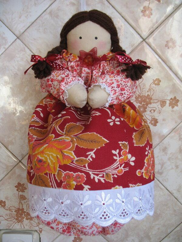 Чехол кукла своими руками 950