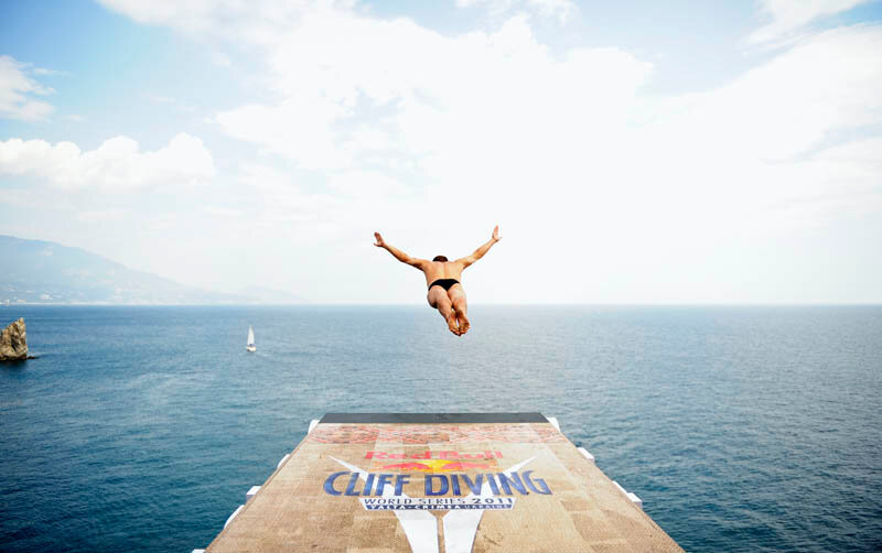 Red Bull cliff diving world series 2011