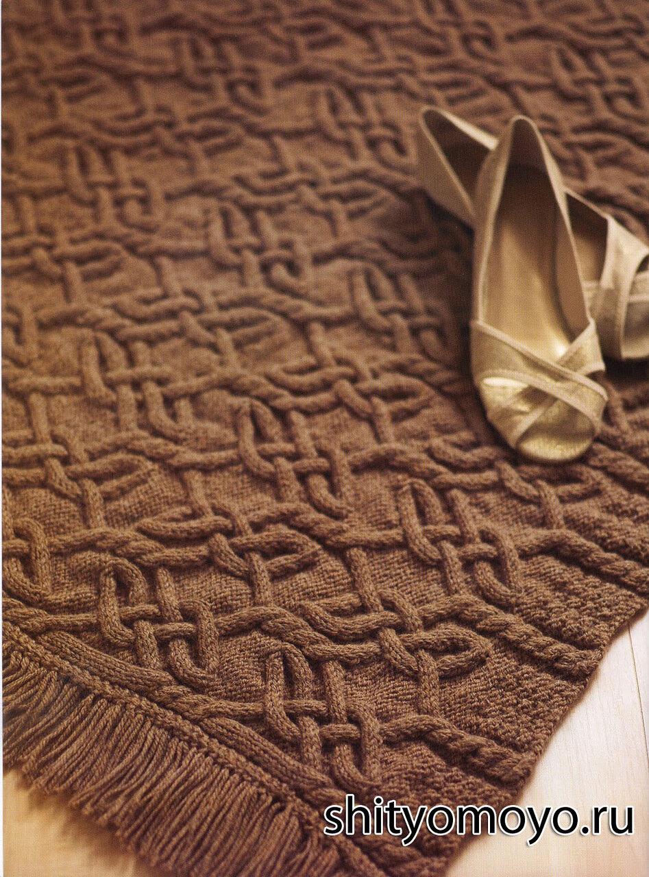 Фото - Плед вязаный, покрывало вязаное, подушки вязаные, комплекты вязаные.