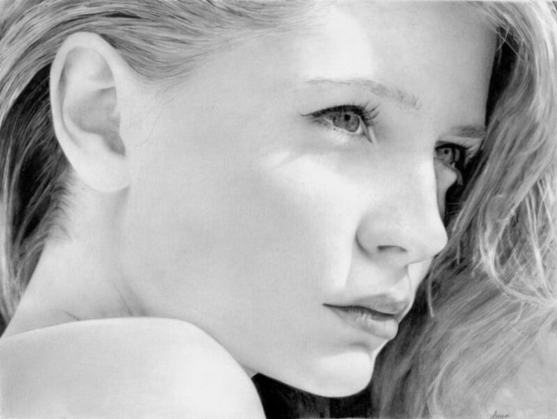 В твоём взгляде неба дремлет синь. Портреты карандашом Anna-Maria Zingg