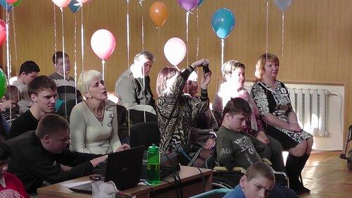Концерт к Международному дню инвалида в детском доме ДОС. Светлана Пискун, Виктория Бабанская