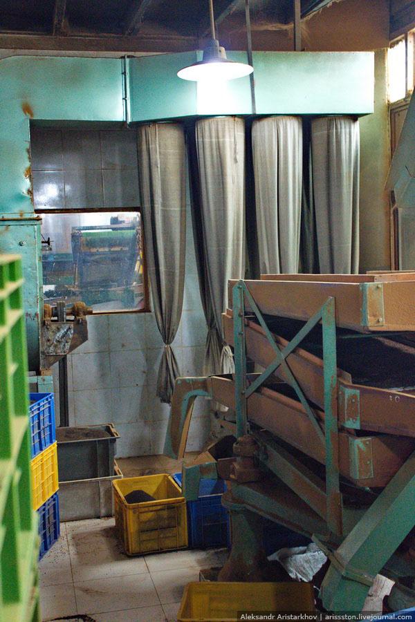 Шри-Ланка: Чайная фабрика