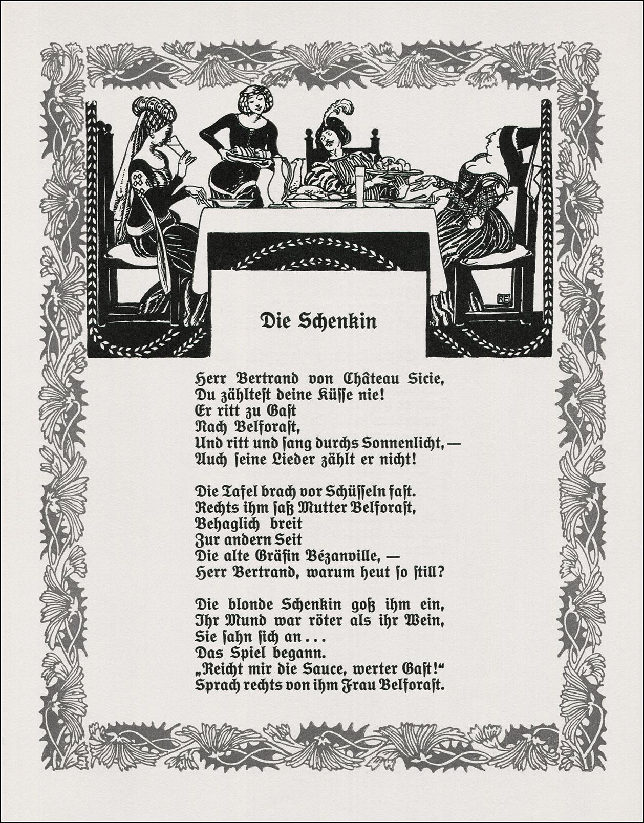 Robert Engels, Balladen