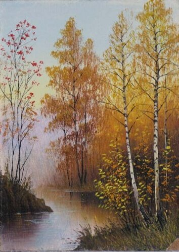 Река Клязьма.