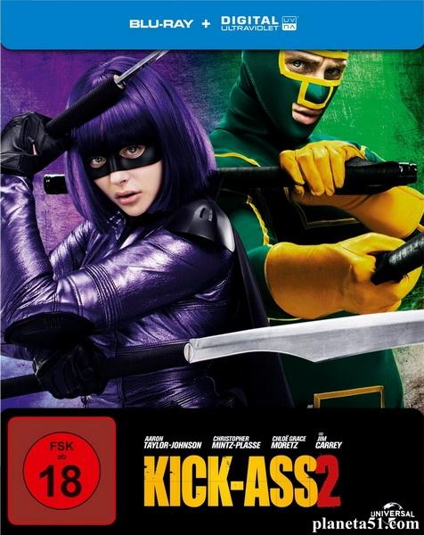 Пипец 2 / Kick-Ass 2 (2013/BDRip/HDRip) [Лицензия]