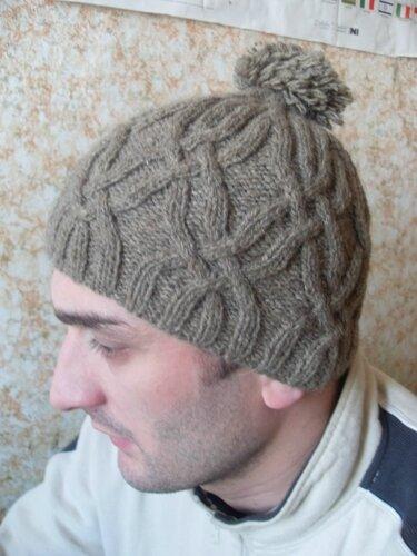 Связанные в январе - шапочка