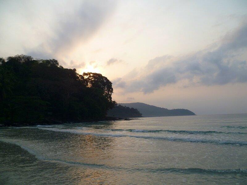 Восход на острове Куд (Ко Куд), Таиланд.  (Sunrise on the island of Kood (Koh Kood), Thailand)