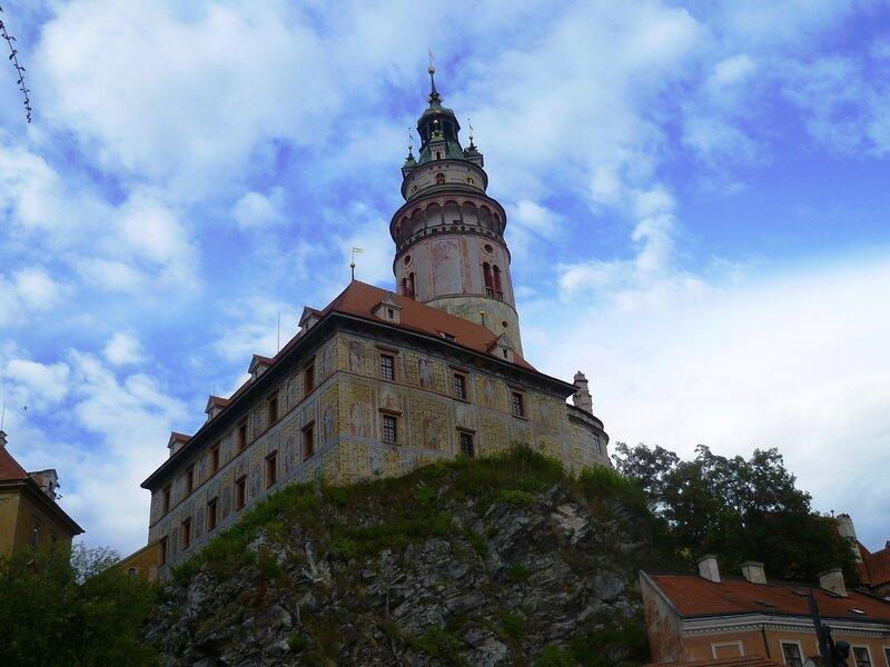 Чехия, Чески-Крумлов – башня (Czech Republic, Cesky Krumlov – Tower)