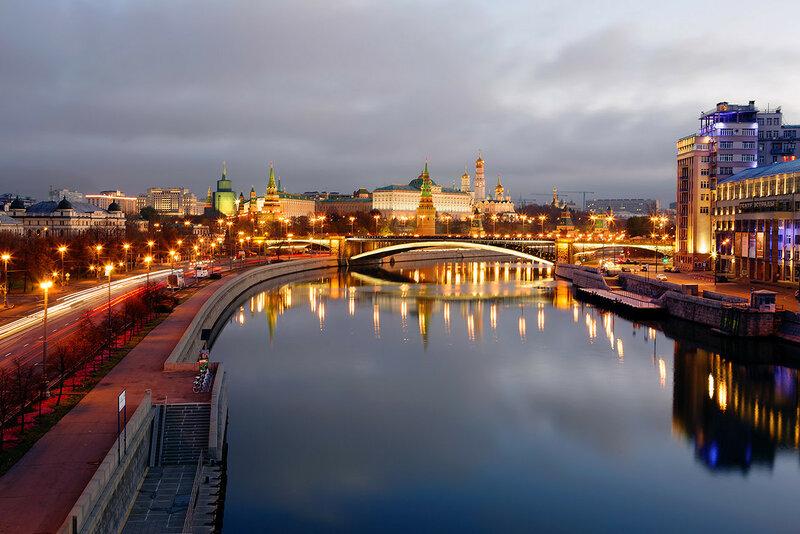 Москва осенним утром