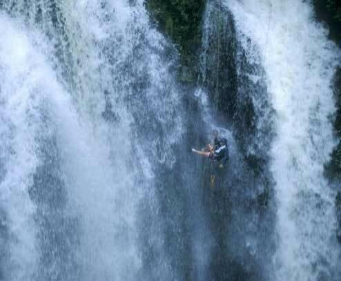 Путешествие к водопадам