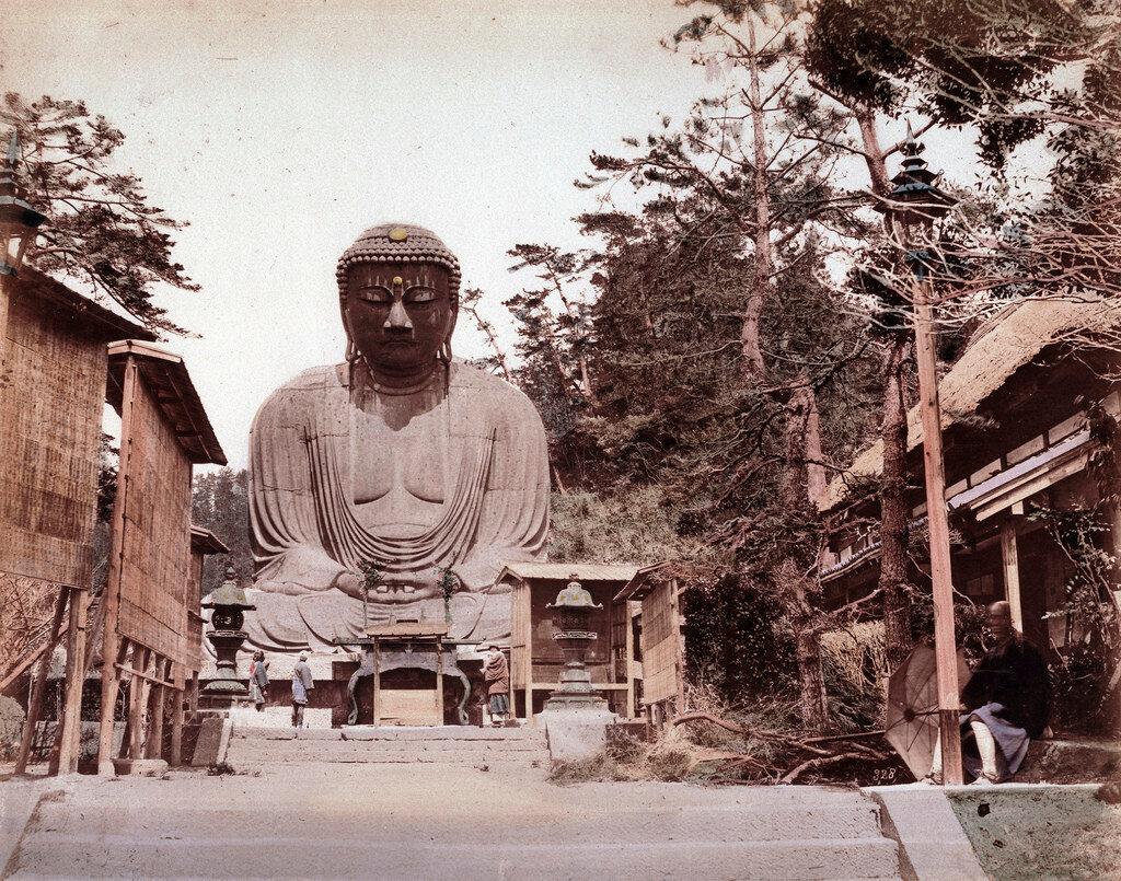 Камакура. Дайбуцу. 1883