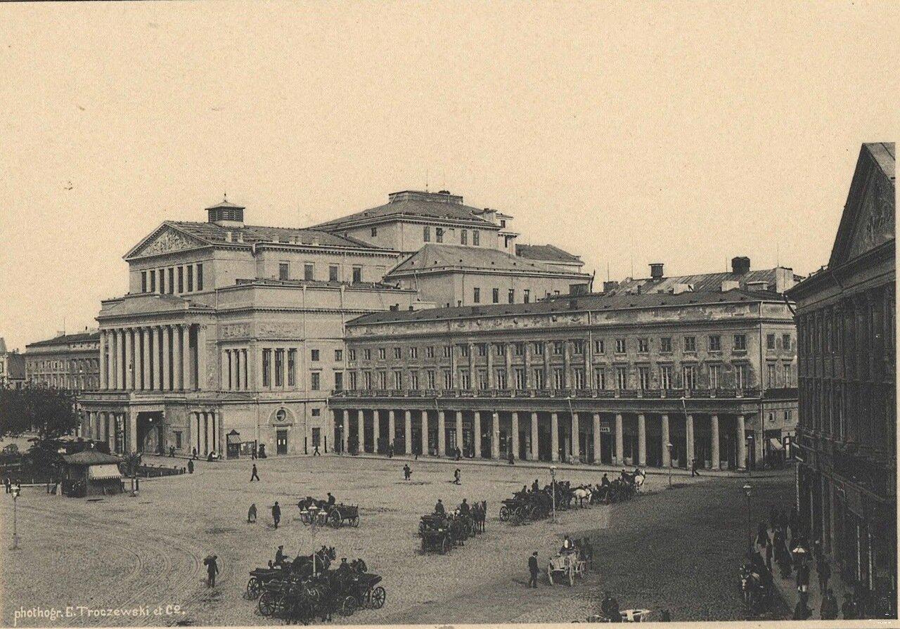 Театральная площадь со зданием Большого театра