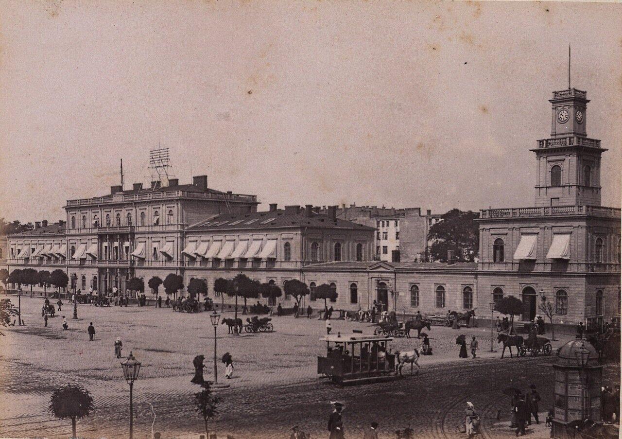 Венский вокзал 1890-е