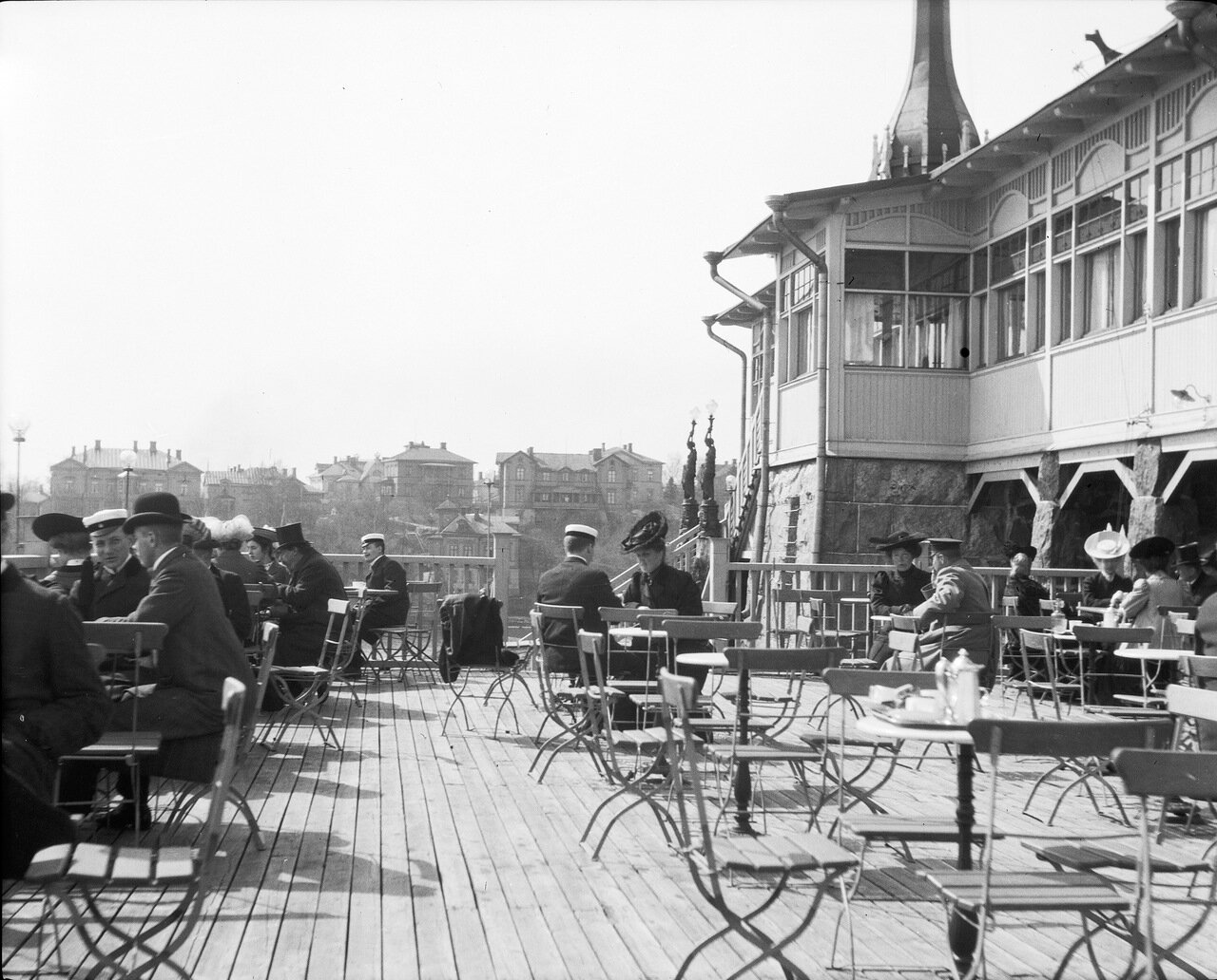 Ресторан Клиппан. 1906